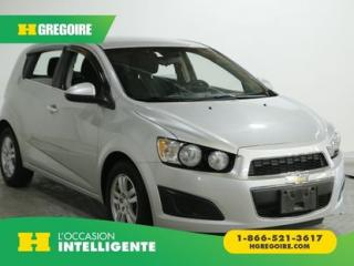 Used 2013 Chevrolet Sonic LT HATCH A/C GR for sale in St-Léonard, QC