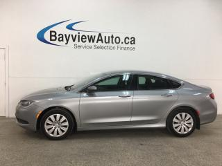 Used 2016 Chrysler 200 LX - ONLY 11,000KMS! PUSH START! A/C! PWR GROUP! for sale in Belleville, ON