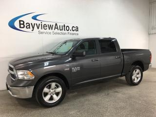 Used 2019 RAM 1500 Classic SLT - CREW! 8SPD AUTO! 20' ALLOYS! 4X4! U-CONNECT! for sale in Belleville, ON