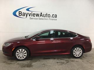 Used 2016 Chrysler 200 LX - 9 SPD AUTO! PWR GROUP! for sale in Belleville, ON
