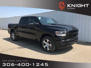 New 2019 RAM 1500 Sport | Heated Seats | Heated Steering Wheel | Remote Start for sale in Weyburn, SK