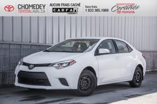 Used 2014 Toyota Corolla LE for sale in Laval, QC