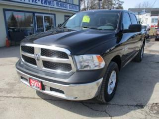 Used 2017 Dodge Ram 1500 WORK READY SLT MODEL 6 PASSENGER 5.7L - HEMI.. 4X4.. CREW.. SHORTY.. AUX/USB INPUT.. KEYLESS ENTRY.. TOW SUPPORT.. for sale in Bradford, ON