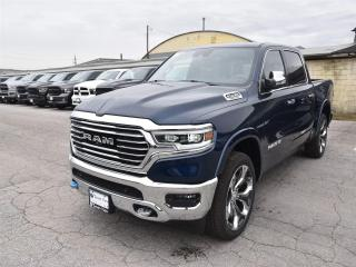 New 2019 RAM 1500 Laramie Longhorn|SAFETYTEC GRP|AIR SUSPENSION|TRAI for sale in Concord, ON
