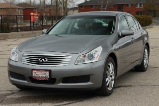 Used 2008 Infiniti G35X AWD | NAVI | Sunroof | CERTIFIED for sale in Waterloo, ON