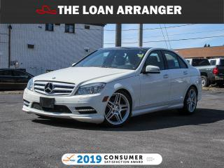 Used 2011 Mercedes-Benz C350 for sale in Barrie, ON