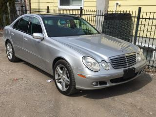 Used 2006 Mercedes-Benz E-Class 4dr Sdn 3.5L 4MATIC for sale in Scarborough, ON