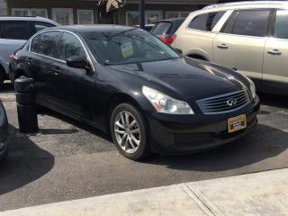 Used 2009 Infiniti G37 SEDAN for sale in Scarborough, ON