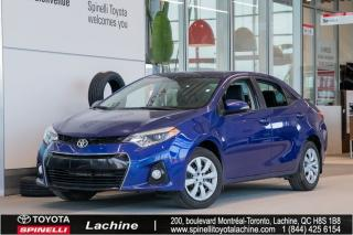 Used 2016 Toyota Corolla S A/c for sale in Lachine, QC