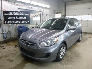 Used 2014 Hyundai Accent L for sale in St-Raymond, QC