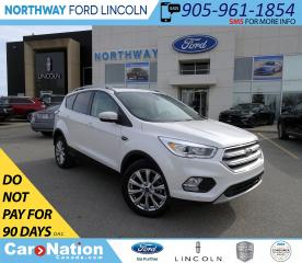 Used 2018 Ford Escape Titanium | AWD | NAV | HTD PWR LTHR | PANOROOF | for sale in Brantford, ON