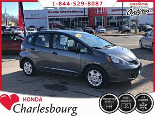 Used 2014 Honda Fit DX-A **UN PROPRIÉTAIRE** 64 934KM** for sale in Charlesbourg, QC