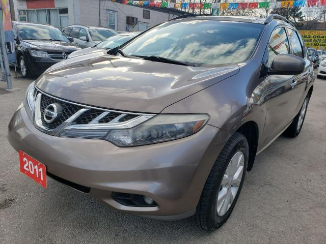 2011 Nissan Murano LE-Leather-Back up Cam- Bluetooth-Alloys-