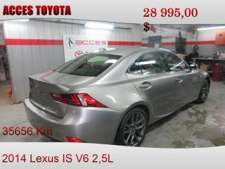 Used 2014 Lexus IS 250 Awd F-Sport And for sale in Rouyn-Noranda, QC