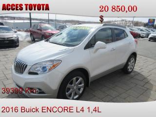 Used 2016 Buick Encore Awd Cuir for sale in Rouyn-Noranda, QC