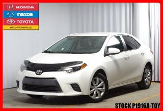 Used 2016 Toyota Corolla Le Sièges Ch. A/c for sale in Drummondville, QC