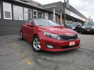 Used 2015 Kia Optima LX .... ACCIDENT FREE, Panoramic Roof, Heated Seats, Satellite Radio, Bluetooth for sale in Scarborough, ON