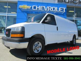 Used 2015 GMC Savana CARGO Longue, V8 for sale in Ste-Marie, QC