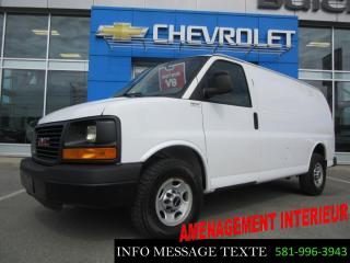 Used 2013 GMC Savana CARGO Amenagement for sale in Ste-Marie, QC