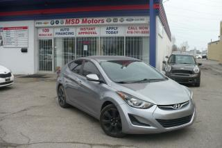 Used 2015 Hyundai Elantra GL for sale in Toronto, ON