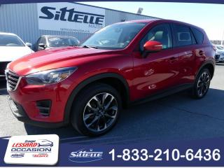 Used 2016 Mazda CX-5 GT, AWD, CUIR, JAMAIS ACCIDENTE! for sale in St-Georges, QC