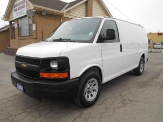 Used 2010 Chevrolet Express 1500 CARGO 4.3L V6 A/C Divider Certified ONLY 136,000Km for sale in Etobicoke, ON