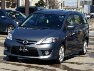 Used 2009 Mazda MAZDA5 GT, NO-ACCIDENTS, 1-OWNER, SUNROOF, ALLOYS, LOADED for sale in Mississauga, ON