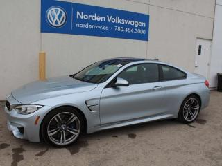 Used 2016 BMW M4 RARE COLOUR! DCT AUTO/CARBON ROOF! for sale in Edmonton, AB