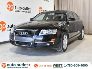 Used 2007 Audi A6 3.2L AWD - Leather Heated Seats - Sunroof for sale in Edmonton, AB