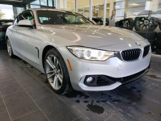 Used 2014 BMW 4 Series XDRIVE, HEATED SEATS, NAVI, REAR VIEW CAMERA, SUNROOF for sale in Edmonton, AB
