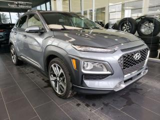 Used 2018 Hyundai KONA ULTIMATE, HEATED STEERING, NAVI, REAR VIEW CAMERA for sale in Edmonton, AB