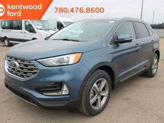 New 2019 Ford Edge SEL cold weather pkg 201A 2.0L AWD ecoboost, heated power seats, heated steering wheel, heated wiper blades, auto start/stop, reverse camera/sensing system for sale in Edmonton, AB