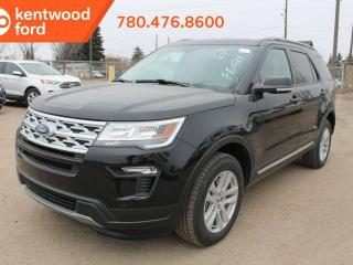 New 2019 Ford Explorer XLT 201A 4WD 2.3L ecoboost, NAV, heated power seats, cruise control, remote vehicle start, reverse camera system for sale in Edmonton, AB