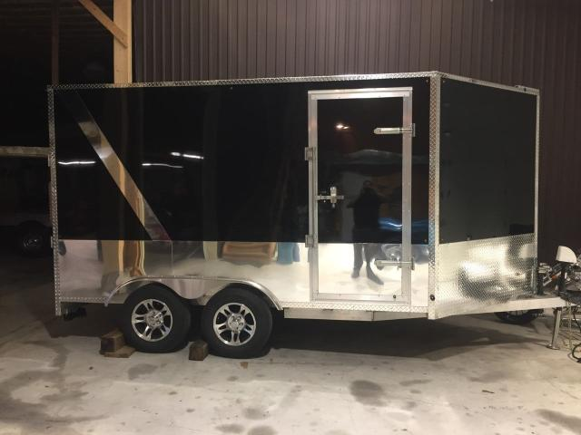 2018 Beckner Trailers ELT Enclosed Trailer Cargo Trailer