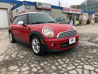 Used 2012 MINI Cooper LEATHER_SUNROOF_MANUAL for sale in Oakville, ON
