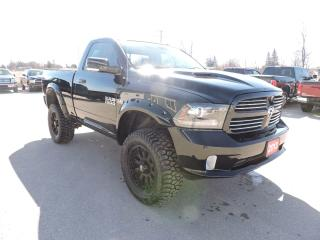 Used 2013 RAM 1500 Sport. New tires. Well oiled. Tons of upgrades for sale in Gorrie, ON