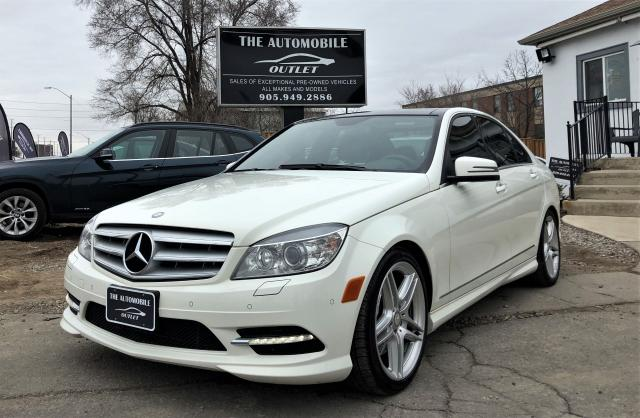 2011 Mercedes-Benz C 350 C 350 AWD FULLY LOADED NAVI ONE OWNER NO ACCIDENT