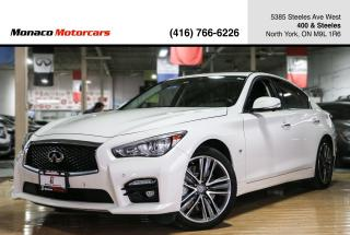 Used 2014 Infiniti Q50 S - ACTIVE CRUSIE CONTROL|NAVI|BACKUP|SUNROOF for sale in North York, ON