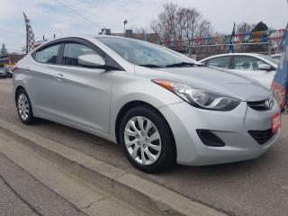 Used 2013 Hyundai Elantra L-Mint Condition -Only 172K-Eco-Bluetooth-Aux-USB for sale in Scarborough, ON