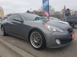 Used 2011 Hyundai Genesis Coupe Extra Clean-6 speed-Sunroof-Bluetooth-Alloys for sale in Scarborough, ON