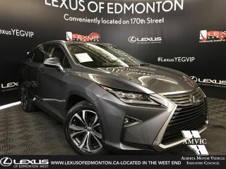 Used 2017 Lexus RX 350 Luxury Package for sale in Edmonton, AB