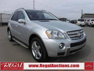 Used 2008 Mercedes-Benz ML 550 CREW XLT for sale in Calgary, AB
