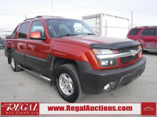 Used 2003 Chevrolet Avalanche for sale in Calgary, AB