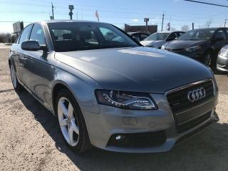 Used 2010 Audi A4 2.0T PREMIUM for sale in Gloucester, ON