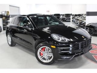 Used 2015 Porsche Macan TURBO   SPORT CHRONO   SPORT SUSPENSION for sale in Vaughan, ON