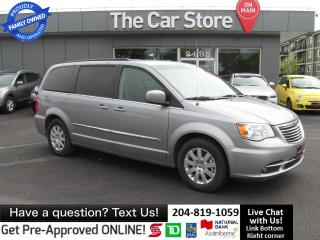 Used 2015 Chrysler Town & Country Touring BACK CAMERA power doors STOWNGO for sale in Winnipeg, MB