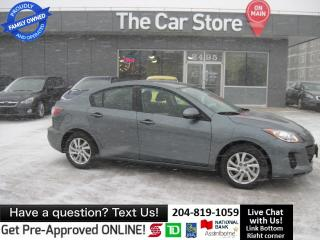Used 2011 Mazda MAZDA3 GX bluetooth LOCAL WINNIPEG CAR, CLEAN TITLE for sale in Winnipeg, MB