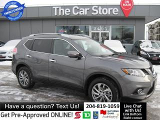 Used 2014 Nissan Rogue SL NAVIGATION HTD LEATHER sunroof CAM pwrlift gate for sale in Winnipeg, MB