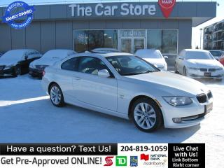 Used 2011 BMW 328 i xDrive 1-OWNER LEATHER SUNROOF mint! clean title for sale in Winnipeg, MB