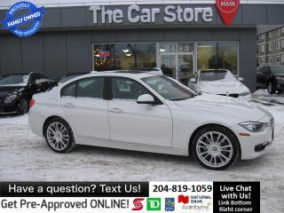 Used 2014 BMW 328i xDrive LEATHER htd sport REAR HEAT - navi for sale in Winnipeg, MB